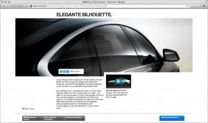 BMW 4erGC_Silhouette