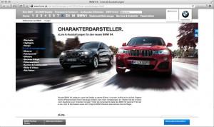 BMW X4_Lines